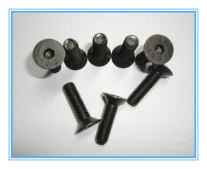 Black Finish 10.9 Grade DIN7991 Hexagon Socket Countersunk Head Screws pictures & photos