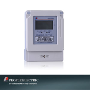 Kilowatt Hour Meter (DDSY858 Single-phase Electronic Prepaid Watt-hour Meter) pictures & photos