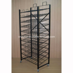 Floor Metal Foldable Mat Display Fixture (pH15-108) pictures & photos
