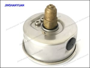 Og-014 Back Connection Pressure Gauge/Brass Thread Pressure Gauge/Oil Manometer pictures & photos