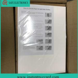 High Quality Light Laser Heat Transfer Paper with A3 A4 Size pictures & photos
