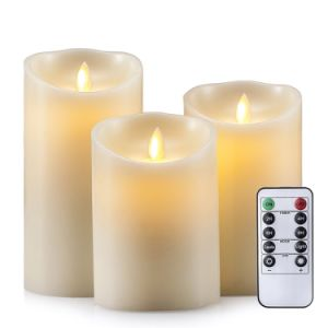 Dancing Flameless LED Candle for Home Decoration pictures & photos