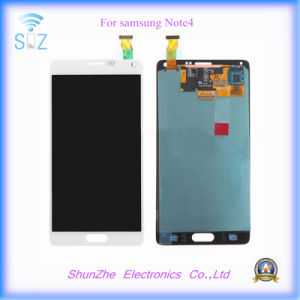 Touch Screen Displayer LCD for Samsung Galaxy Note 4 Note4 pictures & photos