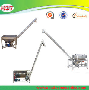 Screw Loader for Conveying Plastic Pellet Granule and PVC Powder pictures & photos