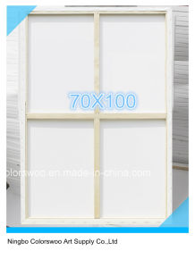 70*100cm Stretched Canvas for Painting and Drawing pictures & photos