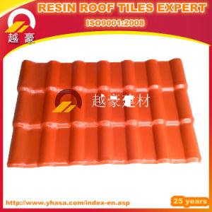Decorative ASA Spanish PVC Roof Tile/ Synthetic Resin Tile Fiberglass Spanish Roofing Tiles pictures & photos