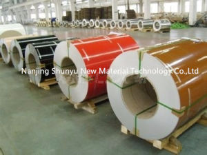 Pre-Painted PPGI Coils/ Colour Coat Metal Sheet Coil/ Color Steel Roll pictures & photos