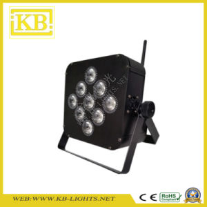 Battery Charging and WiFi Flat LED PAR pictures & photos