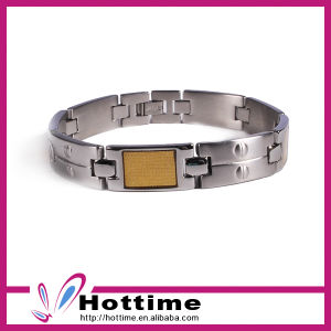Hottime Factory Wholesale Health Magnetic Stainless Steel Bracelet (CP-JS-BL-150) pictures & photos