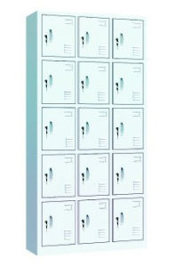18 Doors Metal School Storage Wardrobe Locker/Clothes Cabinet (NS-ST005) pictures & photos