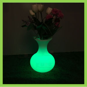 Illuminated LED Vase Remote Control Flower Pot pictures & photos