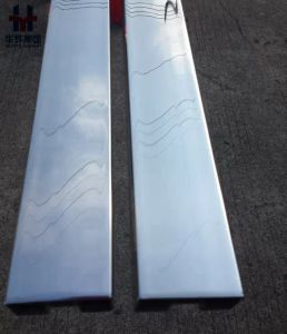 316L Stainless Steel Balustrade Slotted Tube, Glass Handrail Channel Pipe for Europe Market pictures & photos