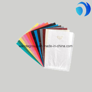 Printed Biodegradable Plastic Die-Cut Bags pictures & photos