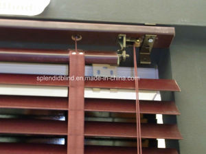 35mm / 1.5′′ Wood Blinds with Cord Tilt Mechanism-SGD-Blind-1070 pictures & photos