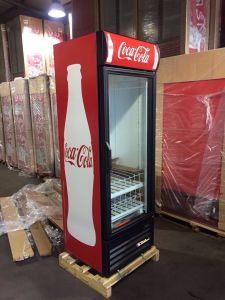 650L Wine and Beer Fridge Display Cooler Showcase for Shops pictures & photos