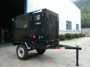 Mobile 50kVA Cummins Sielnt Power Generators pictures & photos