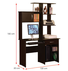 Modern School Library Lab Office Furniture Wooden Computer Desk (HX-DR085) pictures & photos