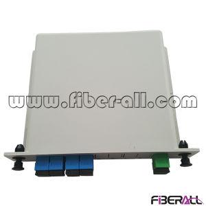 1X4 Optical Fiber PLC Splitter in Plastic Lgx Box pictures & photos