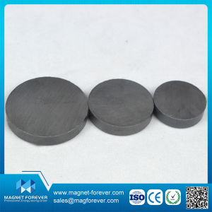 Y30bh Disk Permanent Customized Size Ferrite Magnet for Speak pictures & photos