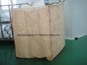 PE Liner Beige Baffle Flexible Bulk Bags for Packaging Starch Powder pictures & photos