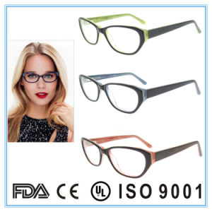 Acetate Frame Eye Glasses High End Quality Optical Frame pictures & photos