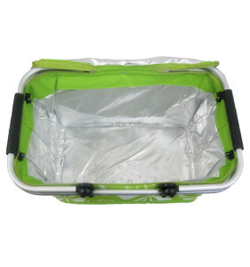High Quality Aluminum Alloy Insulated Breastfeeding Container Cooler Bag pictures & photos