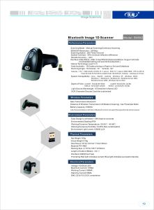 Handheld Bluetooth Barcode Scanner Wireless CCD for Android System pictures & photos