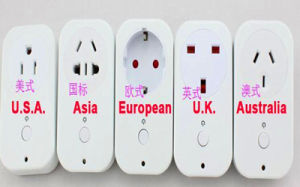 USA/UK/EU/in Standard Wireless Smart Power Socket pictures & photos