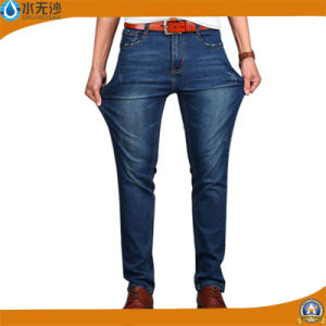 Factory Wholesale Men Denim Pants Fashion Stretch Basic Denim Jeans pictures & photos