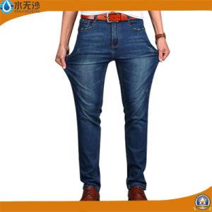 Factory Wholesale Men Denim Pants Fashion Stretch Basic Denim Jeans