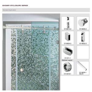 Sliding Door system Bathroom Fitting Shower Door Fitting pictures & photos