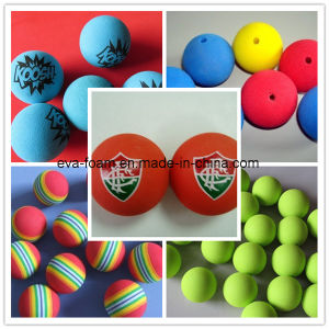 New Arrival Cheap Colored EVA Rubber Foam Ball