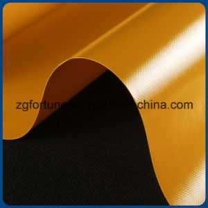 PVC Glossy/Matte Colorful Knife Coated Tarpaulin/Tent Fabric Used for Truck Cover pictures & photos