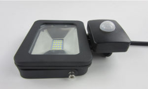 AC 10W Outdoor LED Security Lights Motion Sensor (SLFAP5 SMD 10W-PIR) pictures & photos