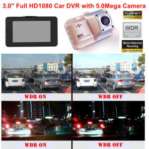 Hot Sale 3.0inch Full HD1080p Car Black Box with Novatek Ntk96650 Chipset, 5.0mega Car Camera, HDMI, 170dgree View Angle Car DVR-3015 pictures & photos