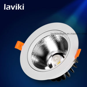 Recessed COB LED Ceiling Spotlight for Jewelry Store & Museum with 3-15W pictures & photos