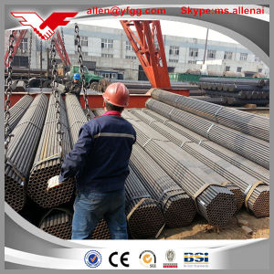 1inch Black ERW Carbon Water Steel Pipe / Low Pressure Liquid Trasport Welded Pipe pictures & photos