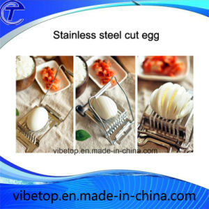 Wholesale Creative Stainless Steel Egg Cutter Slicer for Factory Price pictures & photos