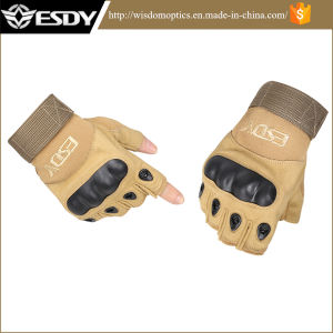 Police Tactical Summer Fingerless Half-Finger Gloves Cycling Biking Gloves pictures & photos