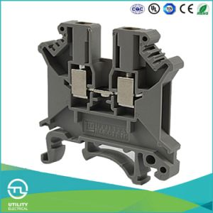 Terminal Blocks Jut1-2.5 Phoenix UK2.5 DIN Rail Connector with UL pictures & photos