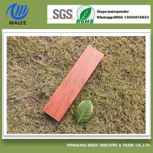 Wood Grain Effect Powder Coating Applied by Heat Transfer