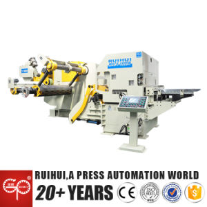Uncoiler Straightener Nc Servo Roll Feeder, 3 in 1, for Steel Material (MAC4-1800H) pictures & photos