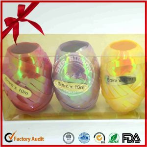 Sweet Color Printed Custom Size Ribbon Egg pictures & photos