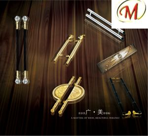 Stainless Steel Carving Door Handle pictures & photos