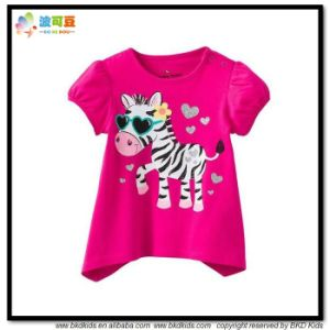 New Design Children Clothes Bubble Sleeve Children T-Shirt pictures & photos