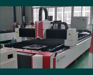 High Quality CNC Fiber Laser Cutter (FLS3015-700W) pictures & photos