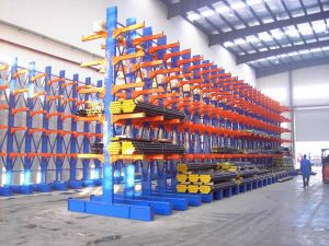 Widely Used in Storage System Heavy Duty Cantilevered Racking pictures & photos