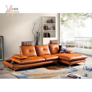 Modern Fashion Micro Leather Sofa (1637A#)