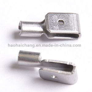 Custom Made Metal Stamping Stainless Steel M4 Thread Clip Terminal pictures & photos