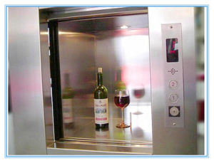 Electric Dumbwaiter Restaurant Dumbwaiter Lift Residential Kitchen Food Elevator pictures & photos